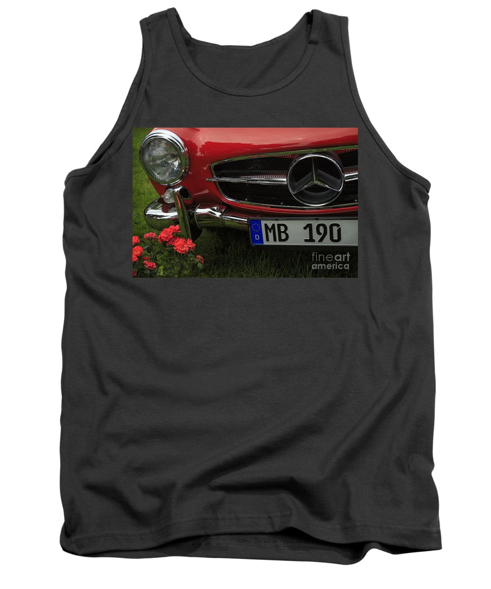 1961 Mercedes Benz 190 Sl Tank Top featuring the photograph Mb 190 by Dennis Hedberg