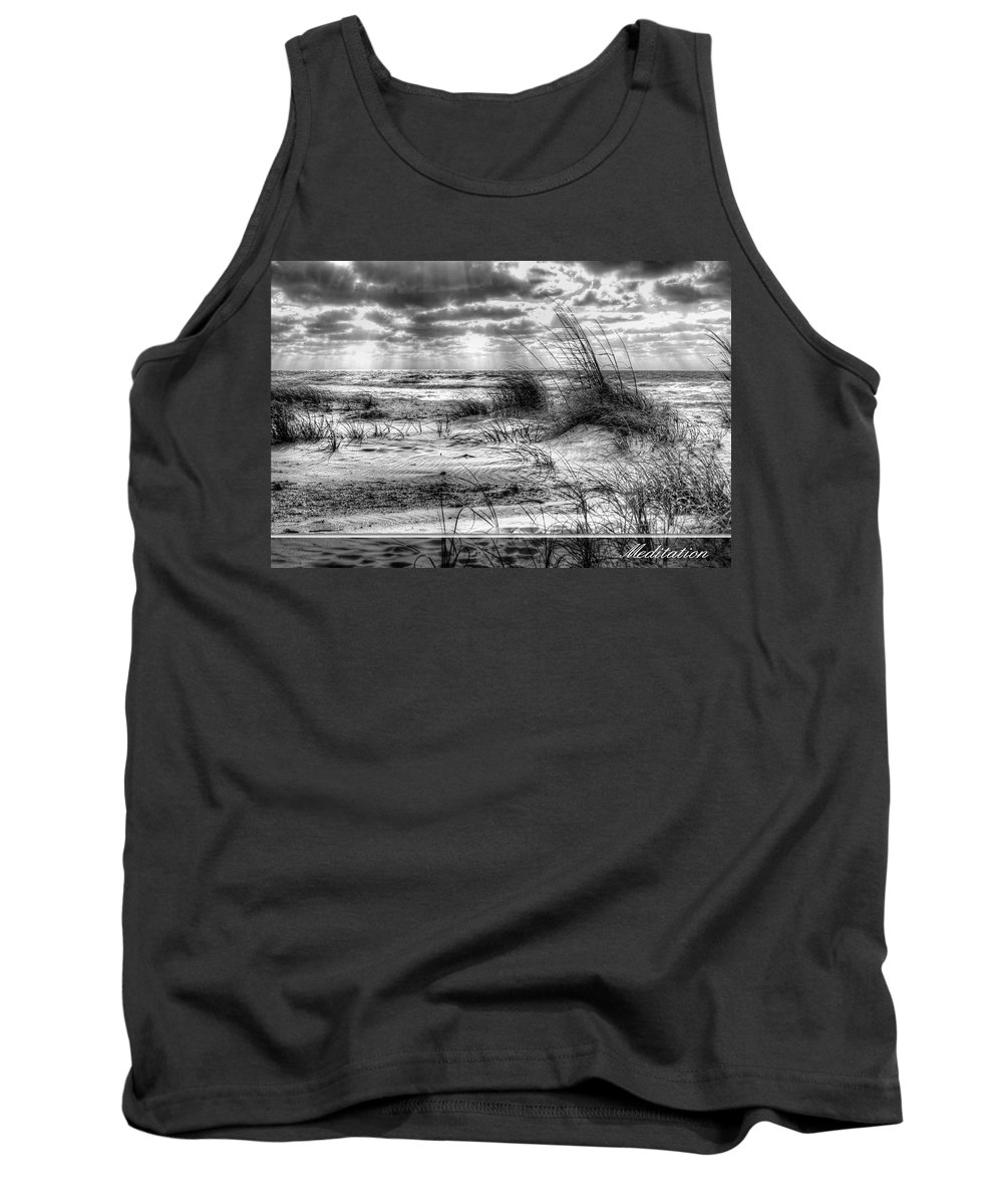 Landscape Tank Top featuring the photograph Meditation 2 by Gary Yost