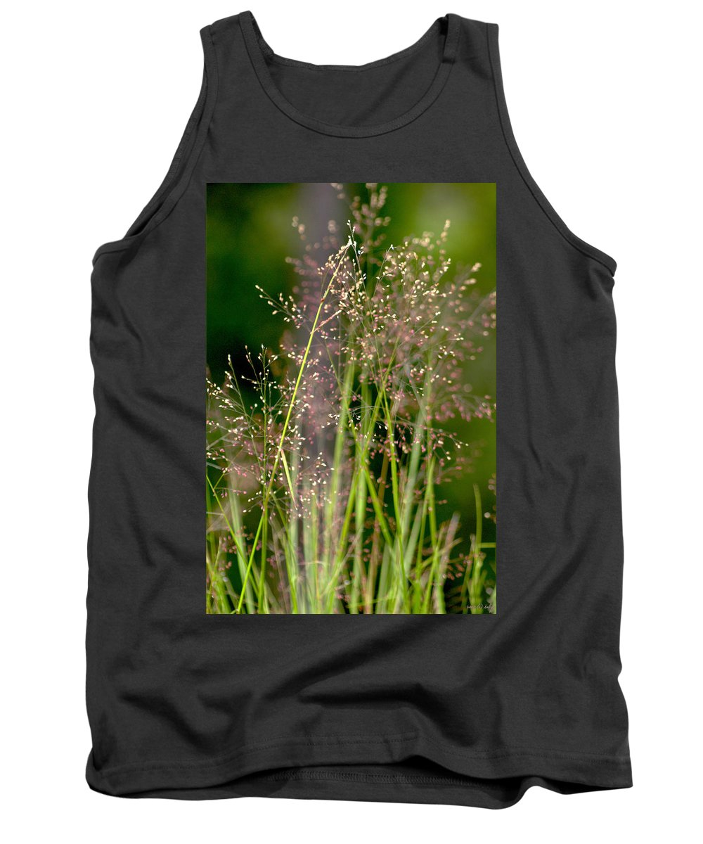 Floral Tank Top featuring the photograph Memories Of Springtime by Holly Kempe