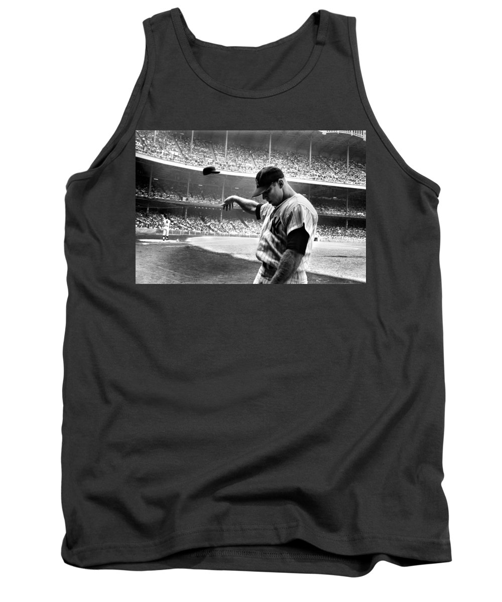 Mickey Mantle Tank Tops