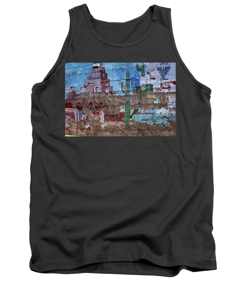 Art Tank Top featuring the photograph Miner Wall Art 3 by Phyllis Denton