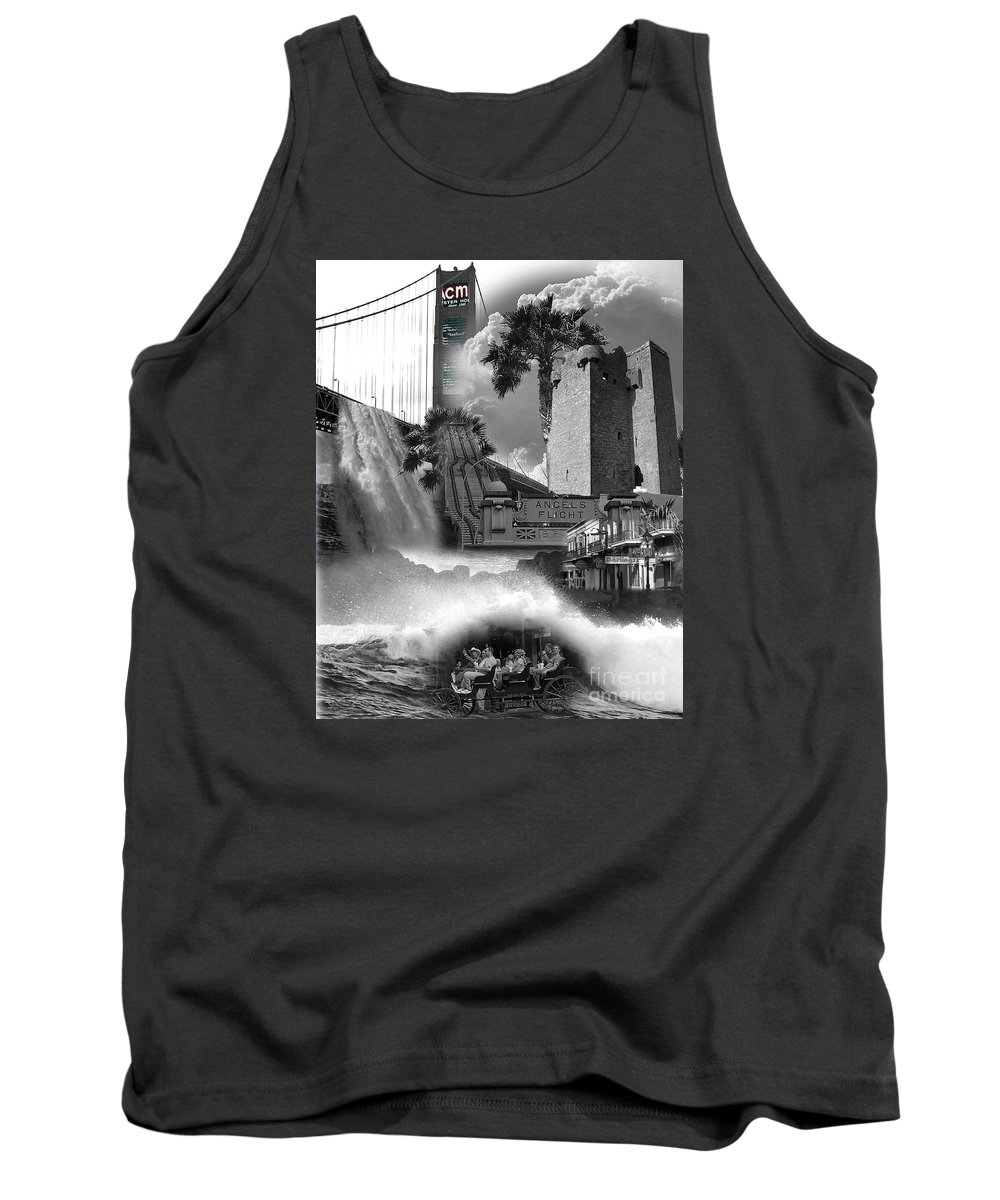 Collage Tank Top featuring the photograph Mixture by TN Fairey