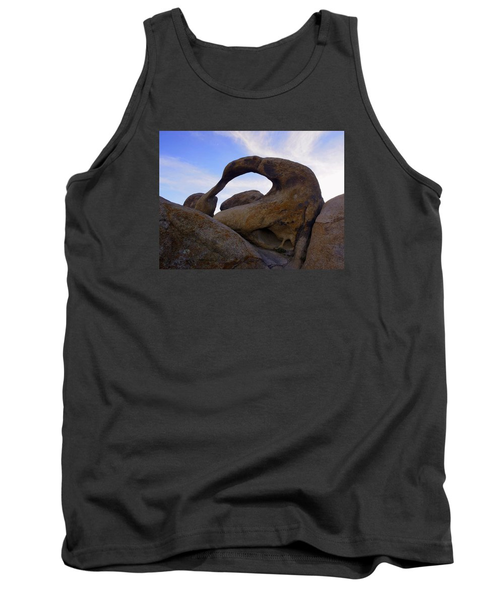 Alabama Hills Tank Top featuring the photograph Mobius Arch by Michele James