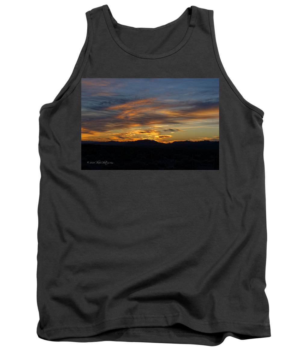 Landscapes Tank Top featuring the photograph Mojave Desert Sunrise by Jim Thompson