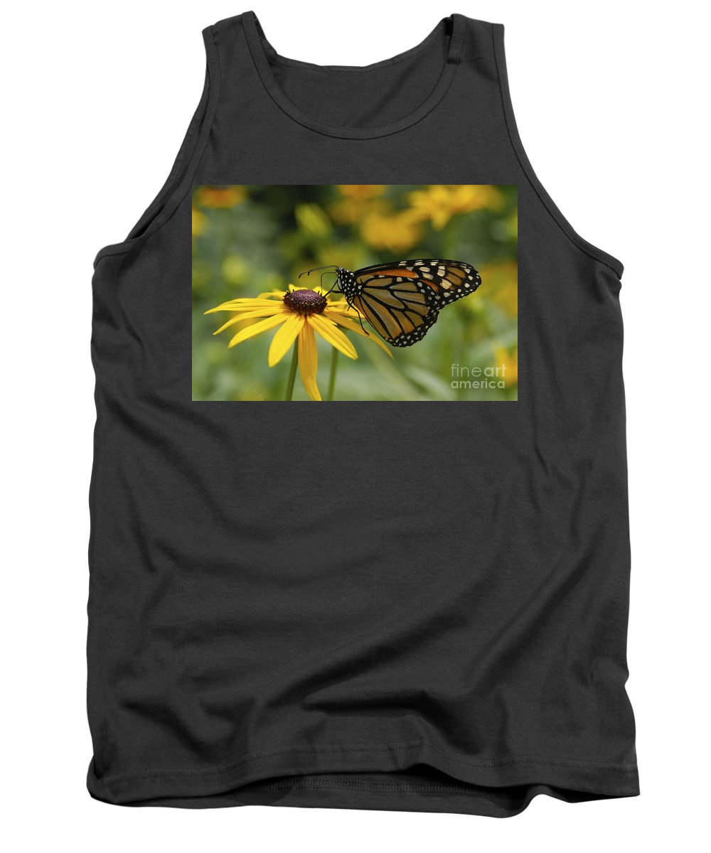 Monarch Butterfly Tank Top featuring the photograph Monarch Butterfly by Anthony Sacco