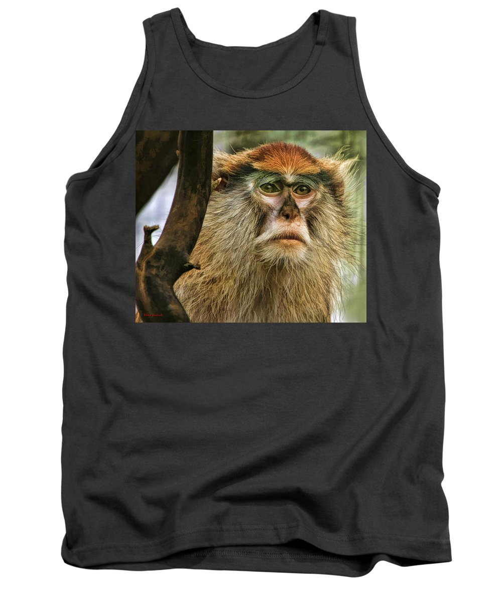 Monkey Tank Top featuring the photograph Monkey by Blake Richards