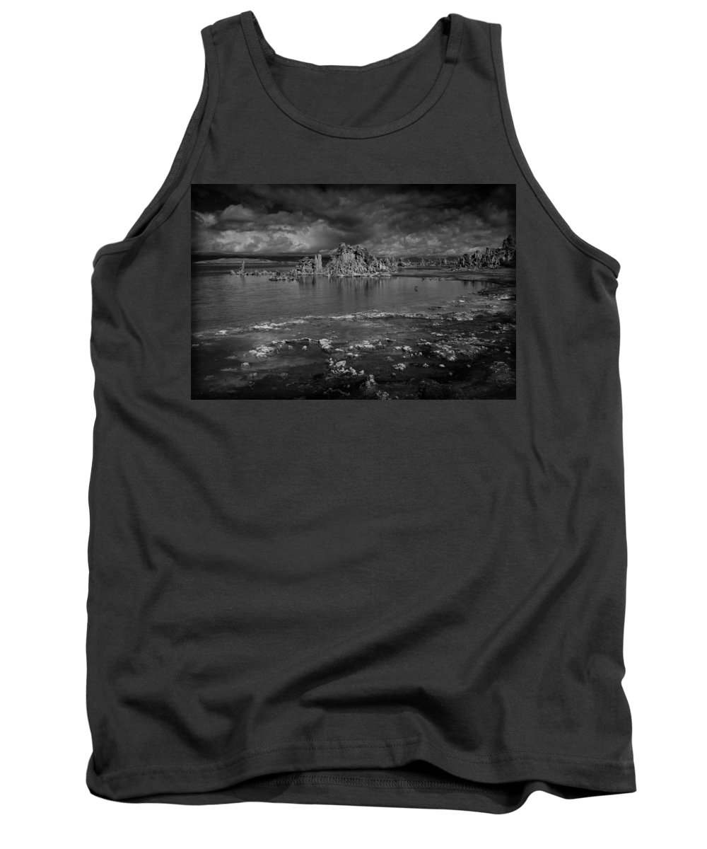 Mono Lake Tank Top featuring the photograph Mono Lake Tufa by Ralph Vazquez