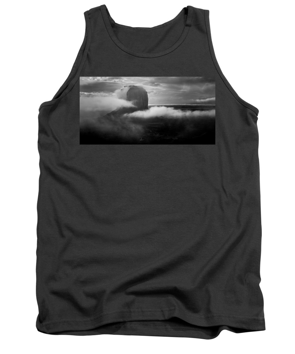 Monument Valley Tank Top featuring the photograph Morning Rain In Monument Valley by Mark Robert Rogers