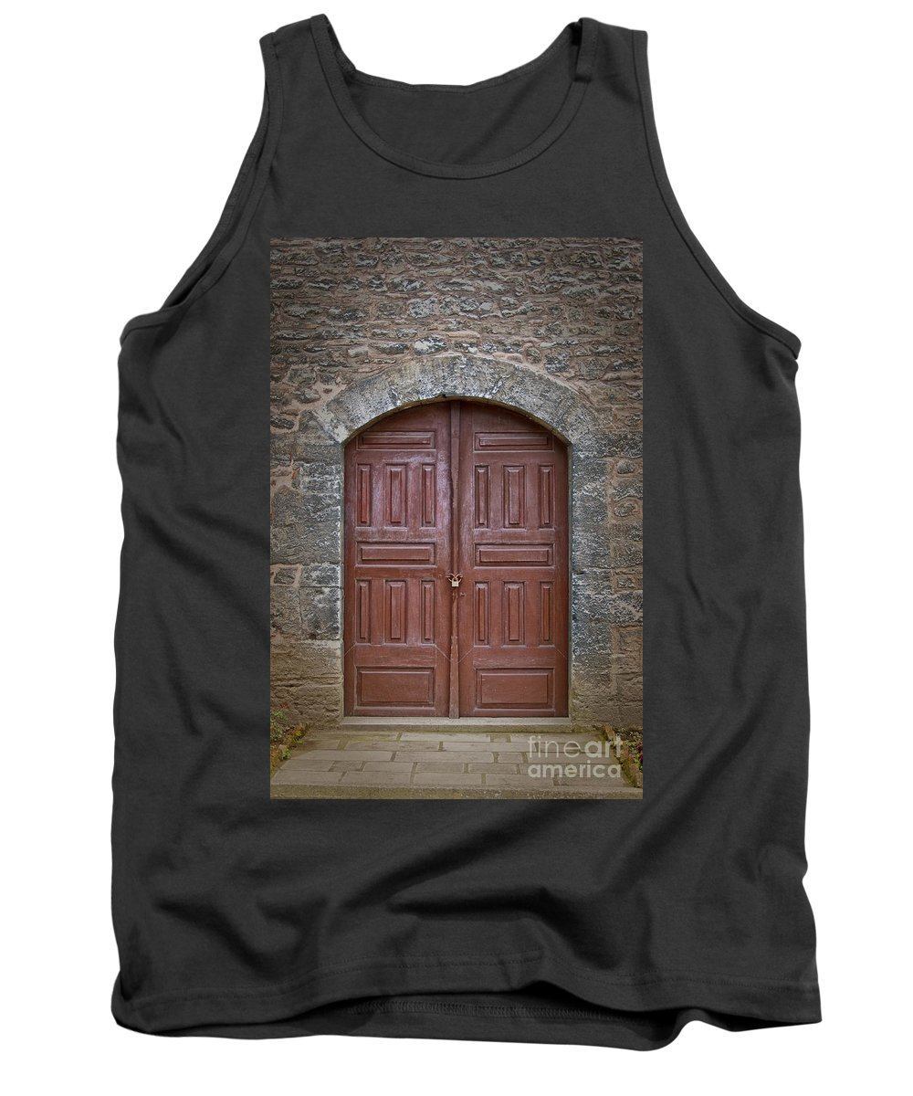 Door Tank Top featuring the photograph Mosque Doors 11 by Antony McAulay