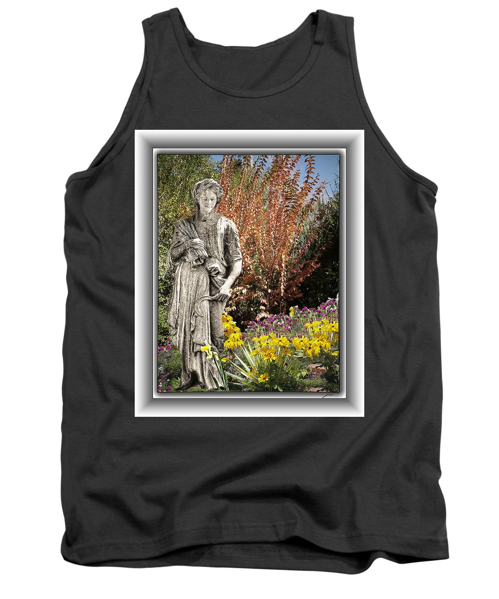 Landscape Tank Top featuring the photograph Mountain Gardener by Thomas Fields