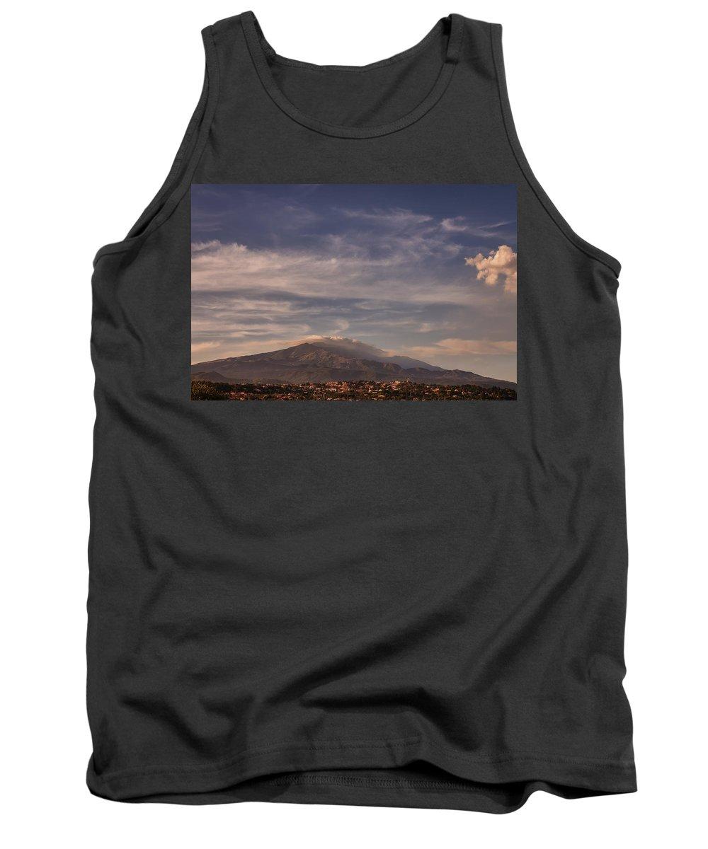 Etna Tank Top featuring the photograph Mt. Etna by Alfio Finocchiaro