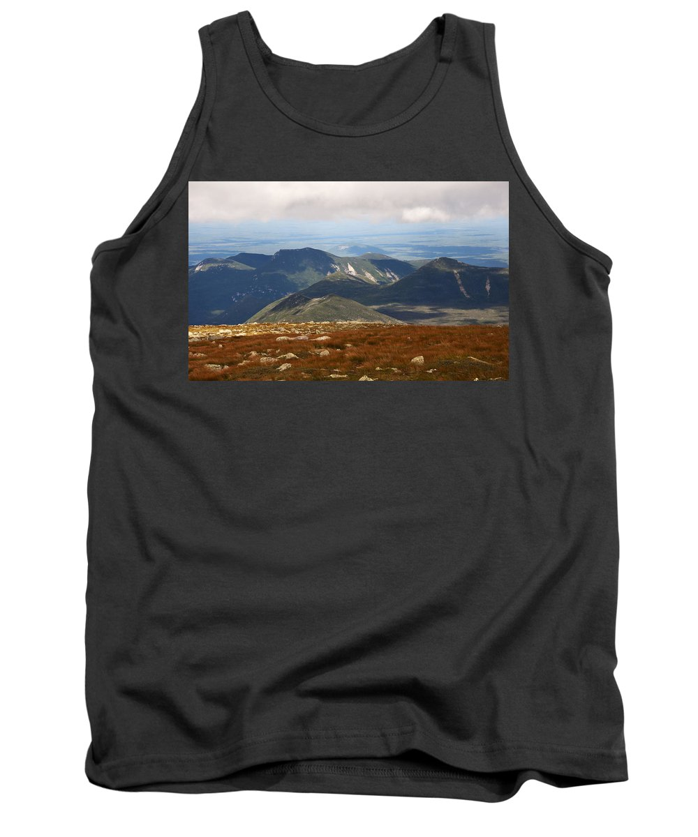 Katahdin Tank Top featuring the photograph Mt. Katahdin Tablelands by Glenn Gordon