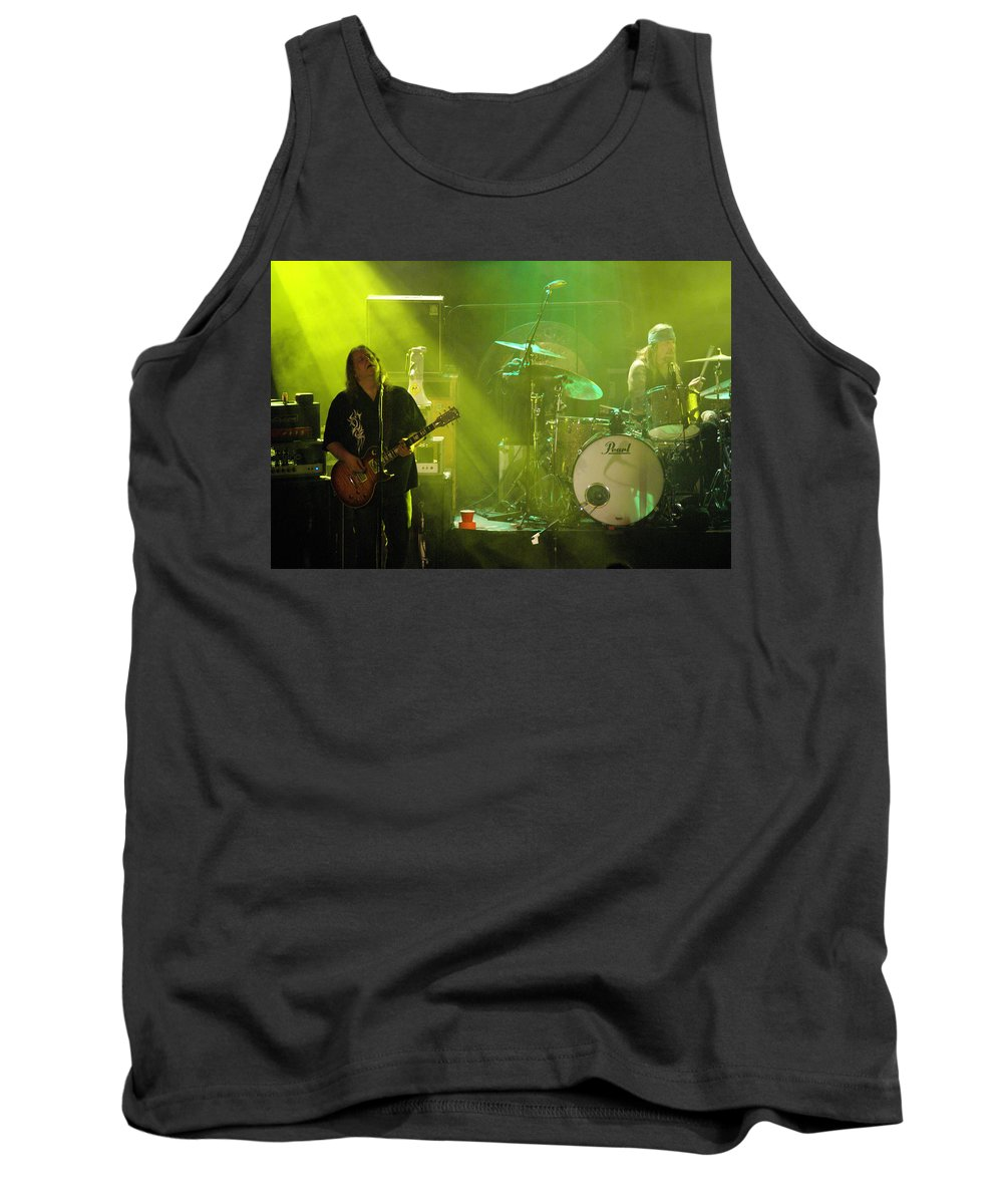 Gov't Mule Tank Top featuring the photograph Mule #10 by Ben Upham