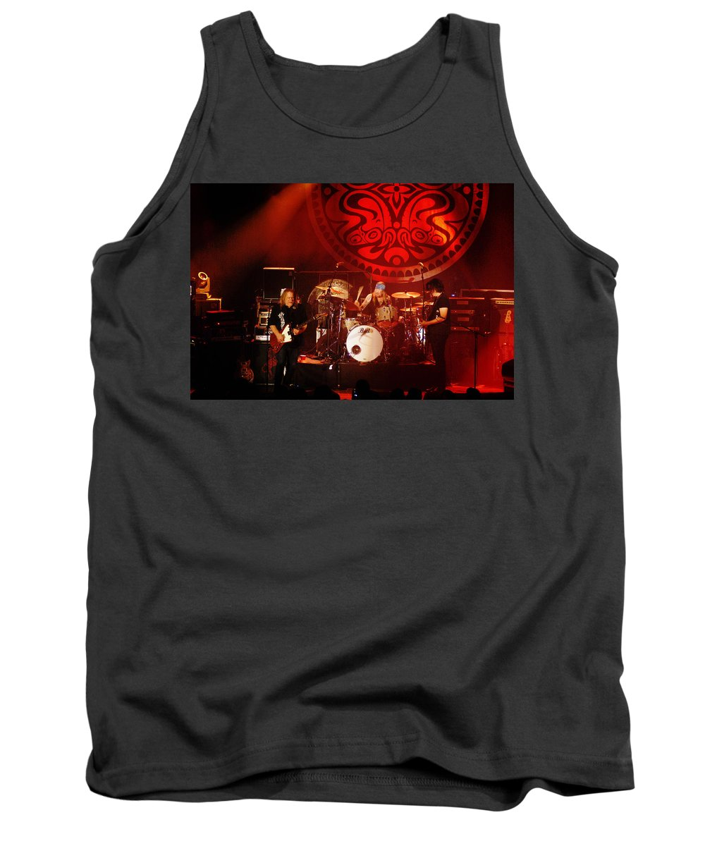 Gov't Mule Tank Top featuring the photograph Mule #2 by Ben Upham