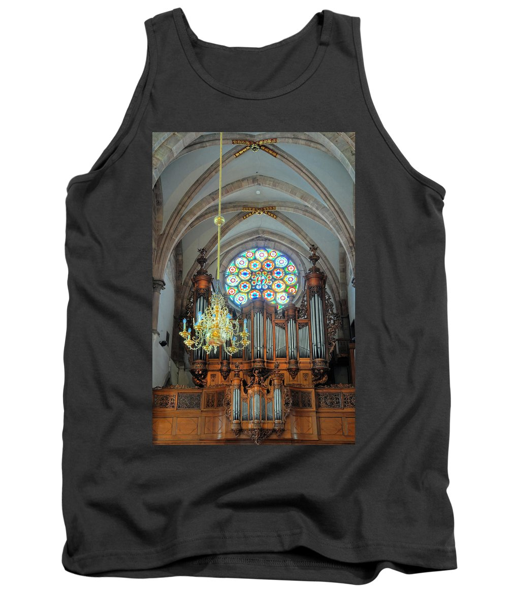 Church Tank Top featuring the photograph Music And Light by Dave Mills