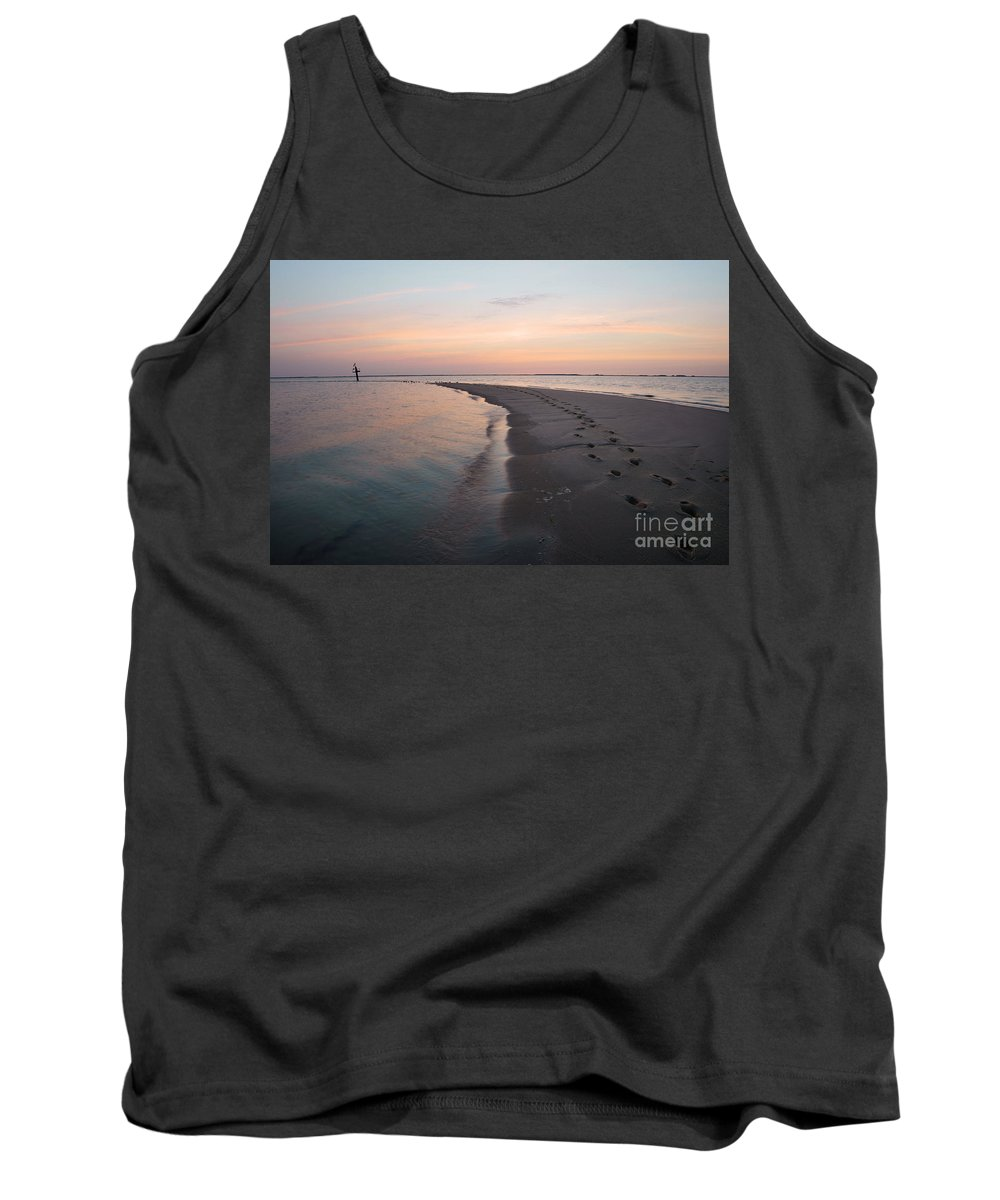 Nanticoke Tank Top featuring the photograph Nanticoke River Sunset Hdr by Benjamin Reed