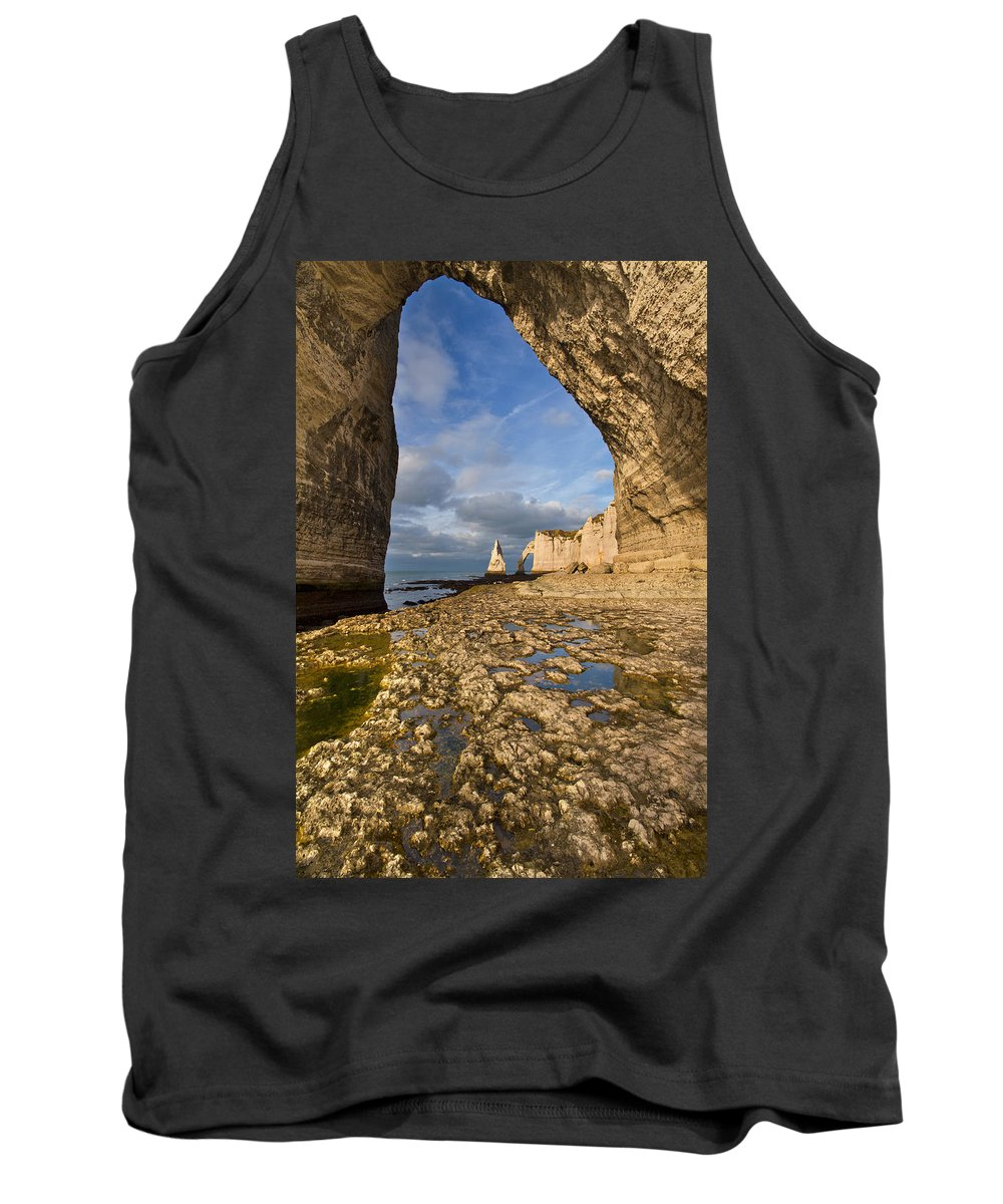 Arch Tank Top featuring the photograph Natural Arches by Mircea Costina Photography
