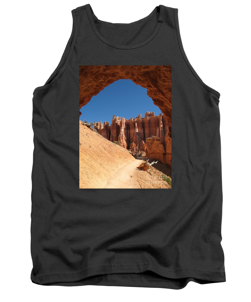 Arch Tank Top featuring the photograph Natural Archway - Bryce Canyon by Christiane Schulze Art And Photography