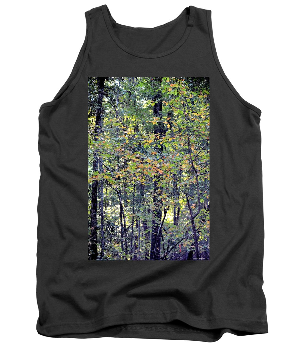 Nature In Autumn 2012 Tank Top featuring the photograph Nature In Autumn 2012 by Maria Urso