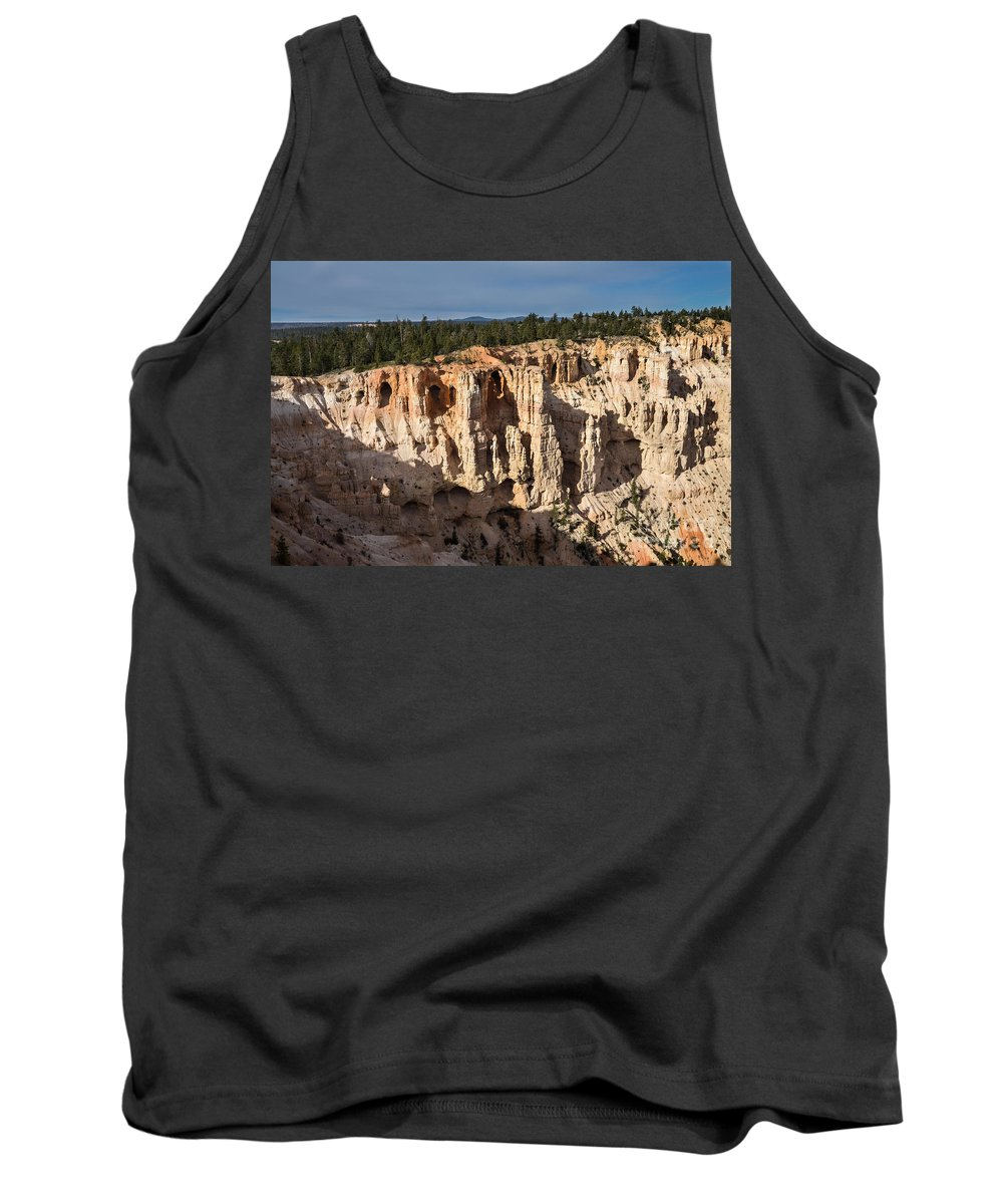 Brown Tank Top featuring the photograph Natures Caves by Rich Priest