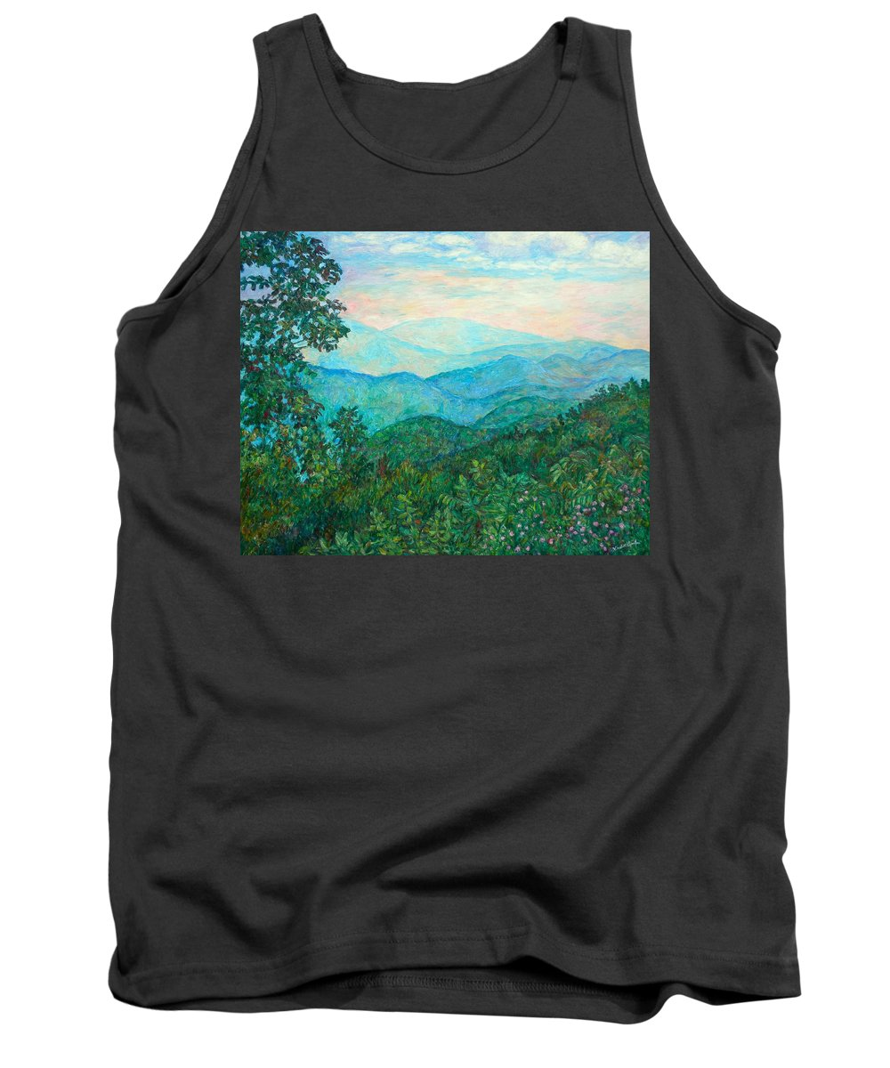 Landscape Tank Top featuring the painting Near Purgatory by Kendall Kessler
