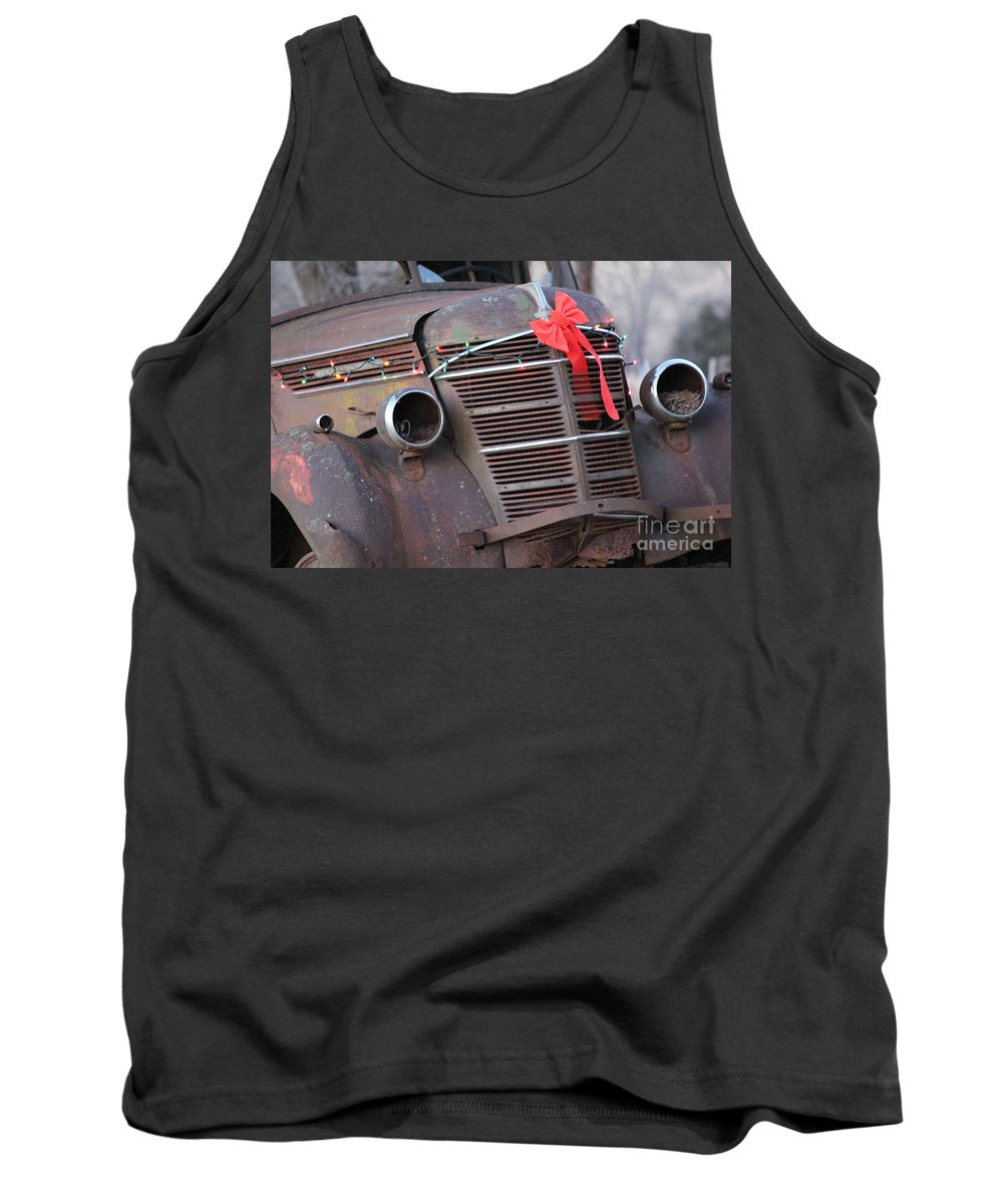 Rust Tank Top featuring the photograph Nestled by Jamie Smith