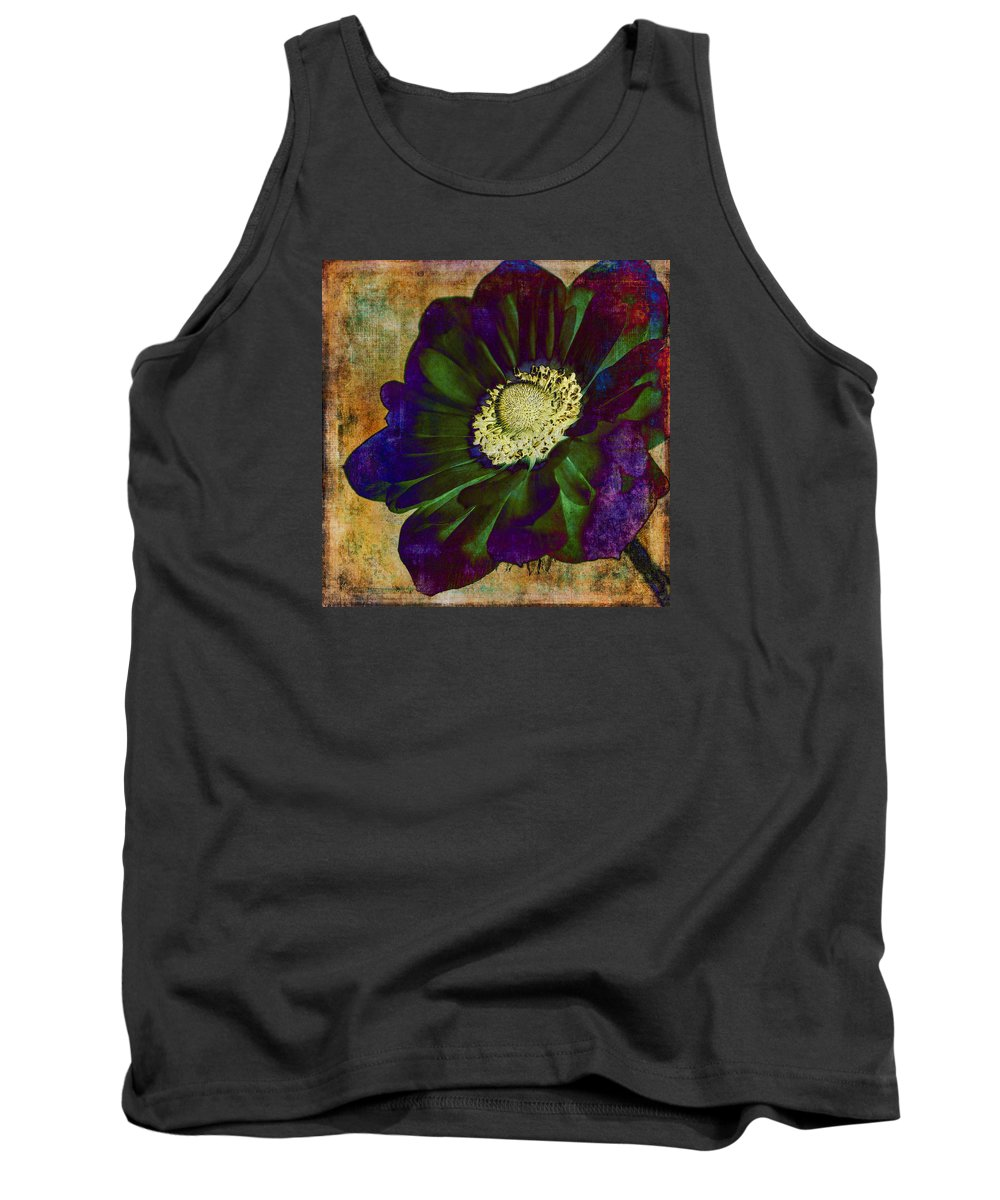Anemone Tank Top featuring the photograph New Hue by Caitlyn Grasso