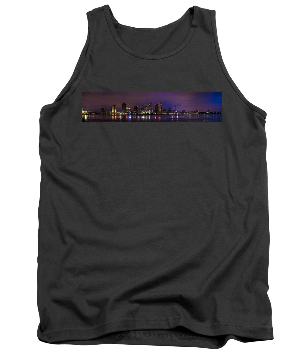 New Orleans Skyline Tank Top featuring the photograph New Orleans Skyline by David Morefield