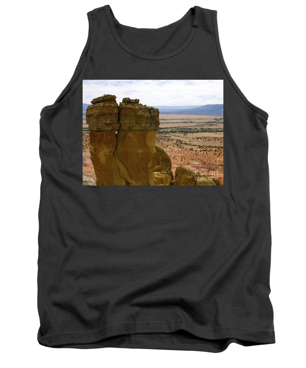 Breaking Bad Tank Top featuring the photograph New Photographic Art Print For Sale Ghost Ranch New Mexico 11 by Toula Mavridou-Messer