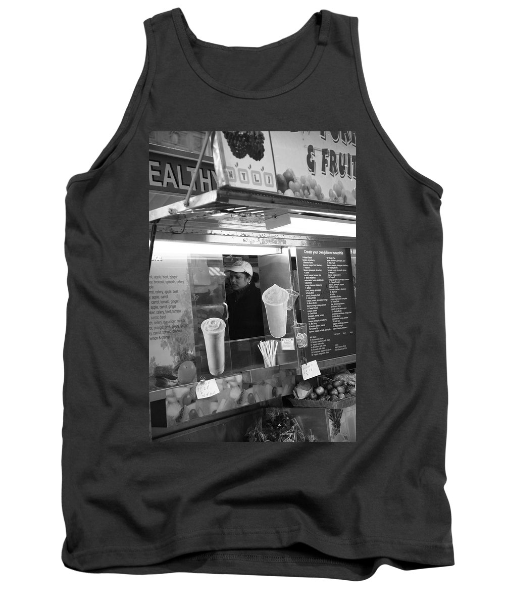 Alley Tank Top featuring the photograph New York Street Photography 11 by Frank Romeo