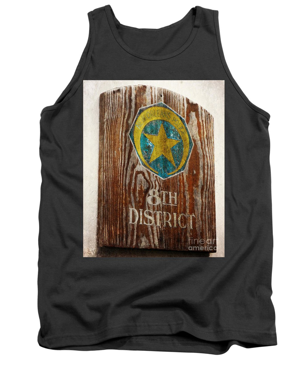 New Orleans Tank Top featuring the photograph Nola's 8th District by Valerie Reeves