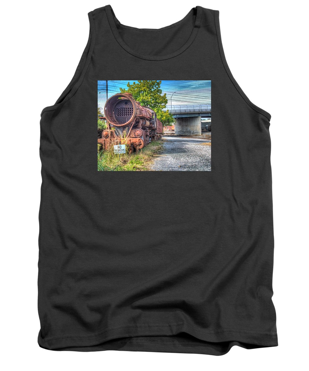 Historic Tank Top featuring the photograph Norfolk And Western Class M2c No 1151 by Greg Hager