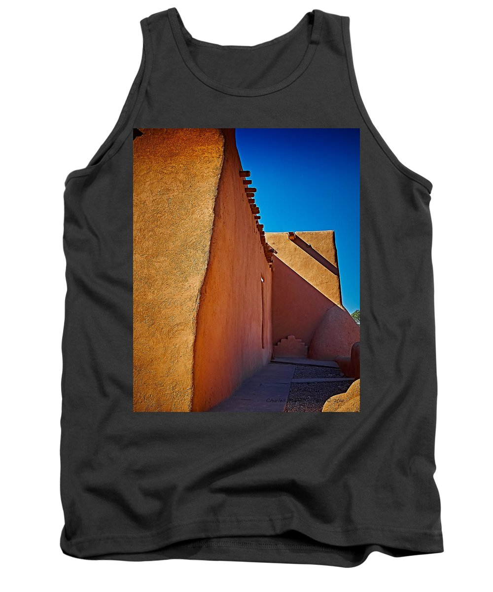 San Tank Top featuring the photograph North Side by Charles Muhle