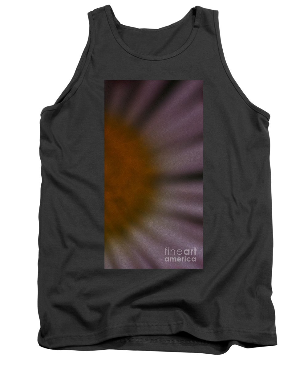Flower Tank Top featuring the photograph Obscure by Linda Shafer