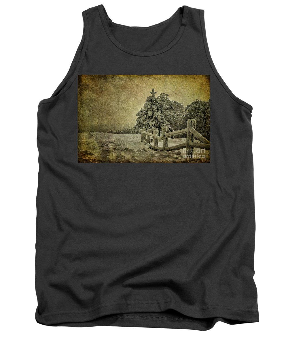 Winter Tank Top featuring the photograph Oh Christmas Tree by Lois Bryan