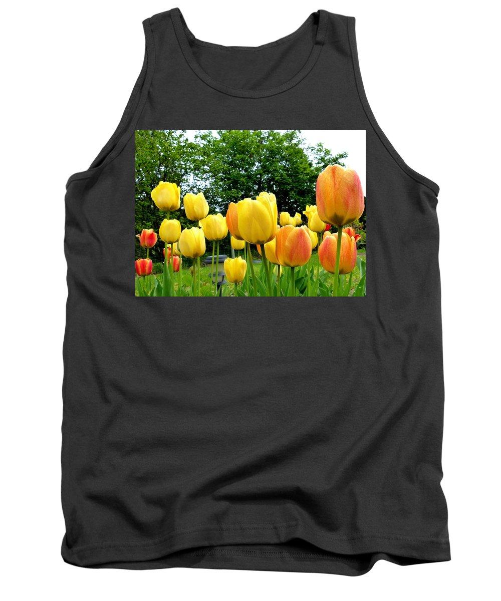 Okanagan Valley Tulips Tank Top featuring the photograph Okanagan Valley Tulips by Will Borden
