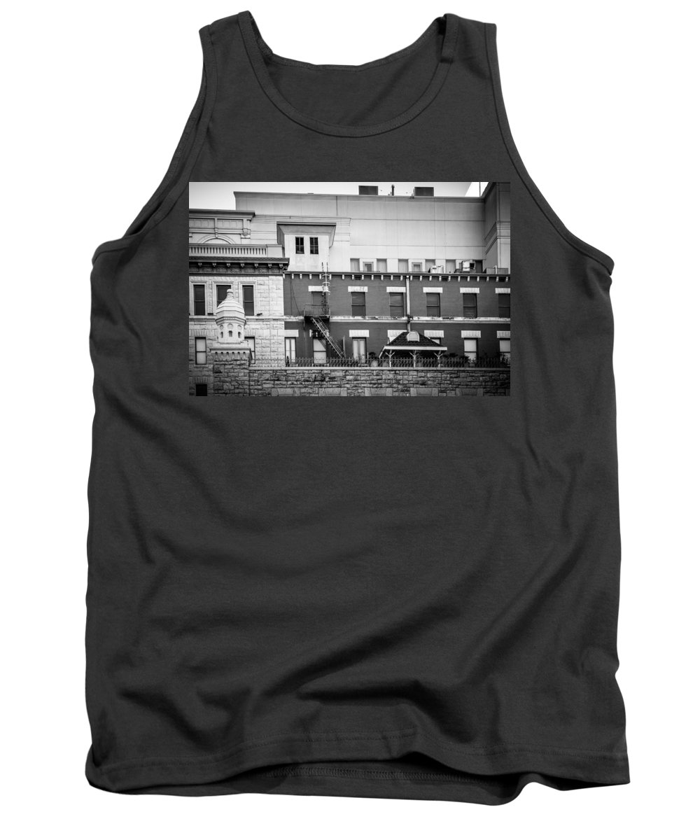 Architecture Tank Top featuring the photograph Old Bricks New Stone 2 by Melinda Ledsome