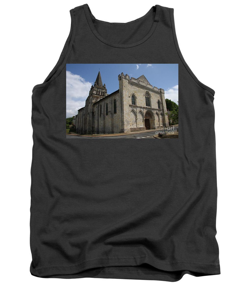 Church Tank Top featuring the photograph Old Church - Loire - France by Christiane Schulze Art And Photography