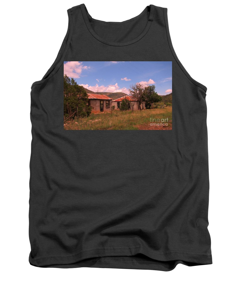 Old Homes Tank Top featuring the photograph Old Country Homes by John Malone