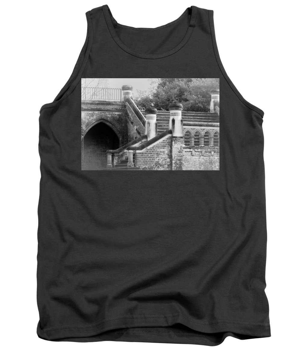 Stairs Tank Top featuring the photograph Old Grandeur by Tracey Beer