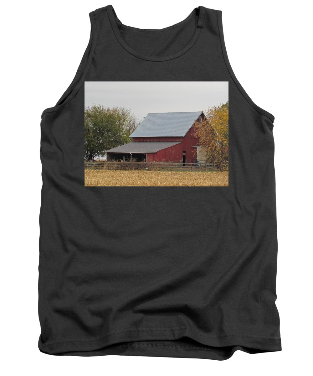 Old Horse Barn Tank Top featuring the photograph Old Horse Barn by Eric Noa