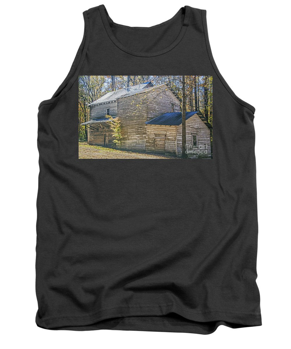 Travel Tank Top featuring the photograph Old Mill by Elvis Vaughn
