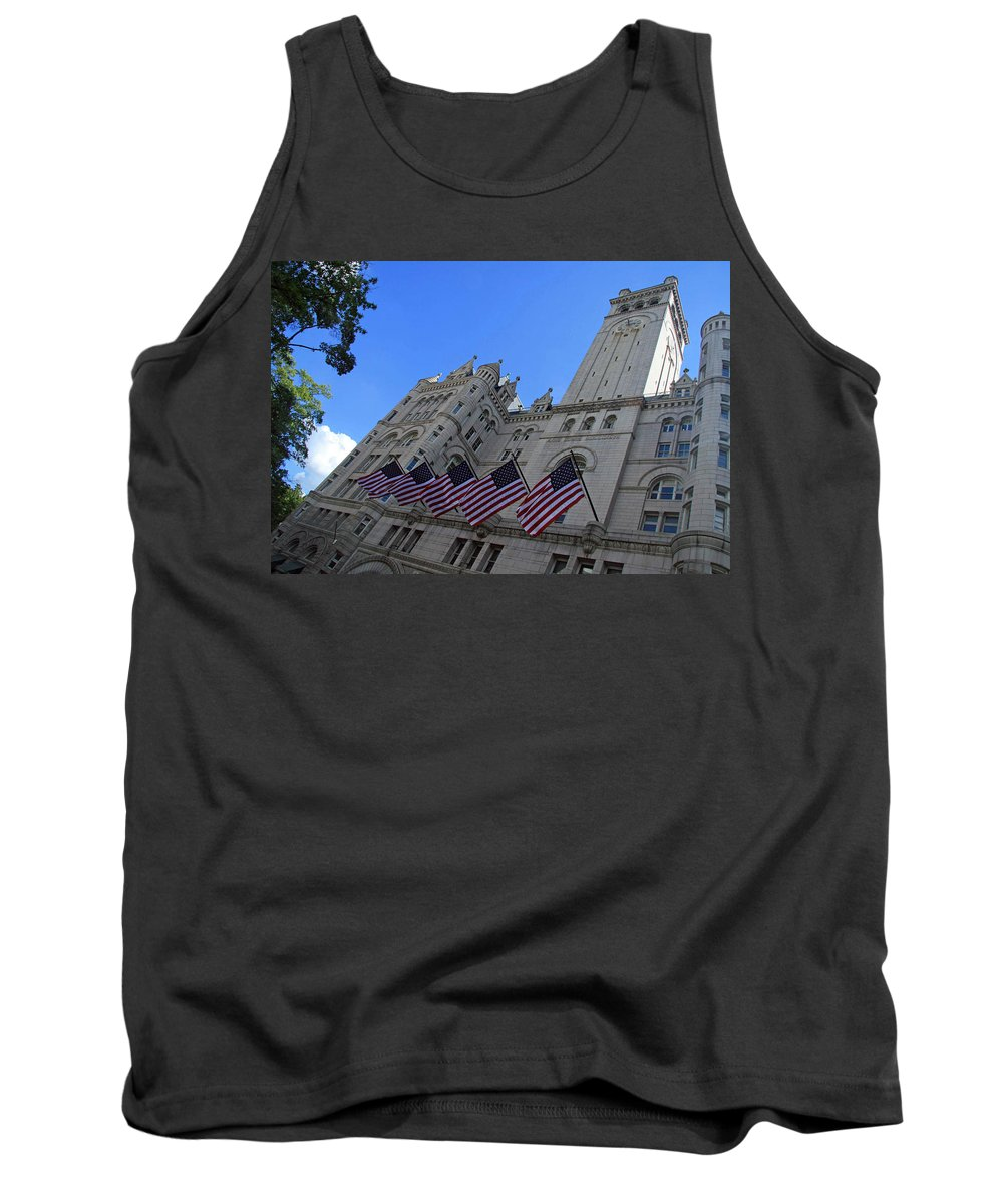 Old Post Office Tank Top featuring the photograph The Old Post Office Or Trump Tower by Cora Wandel