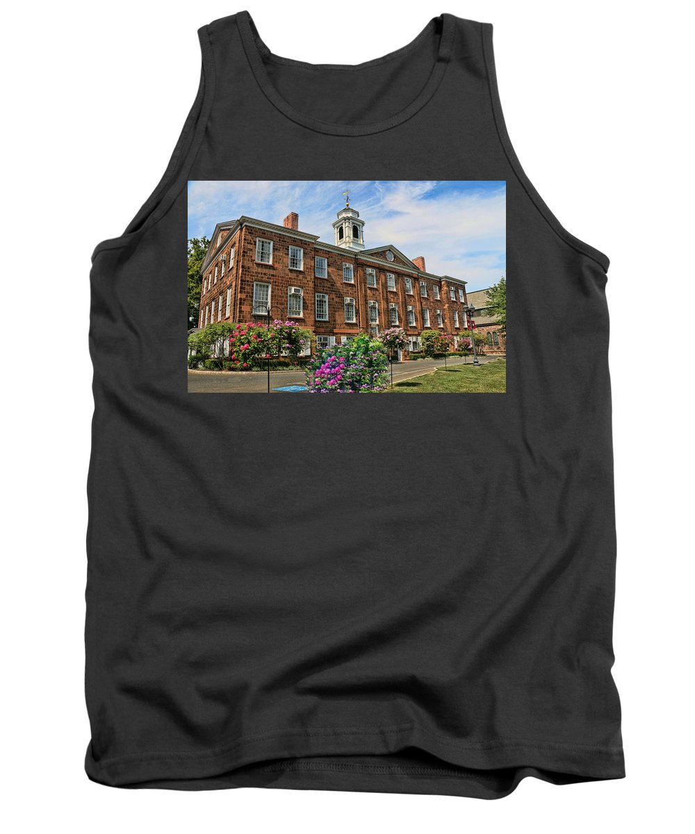 Rutgers Tank Top featuring the photograph Old Queens by Allen Beatty