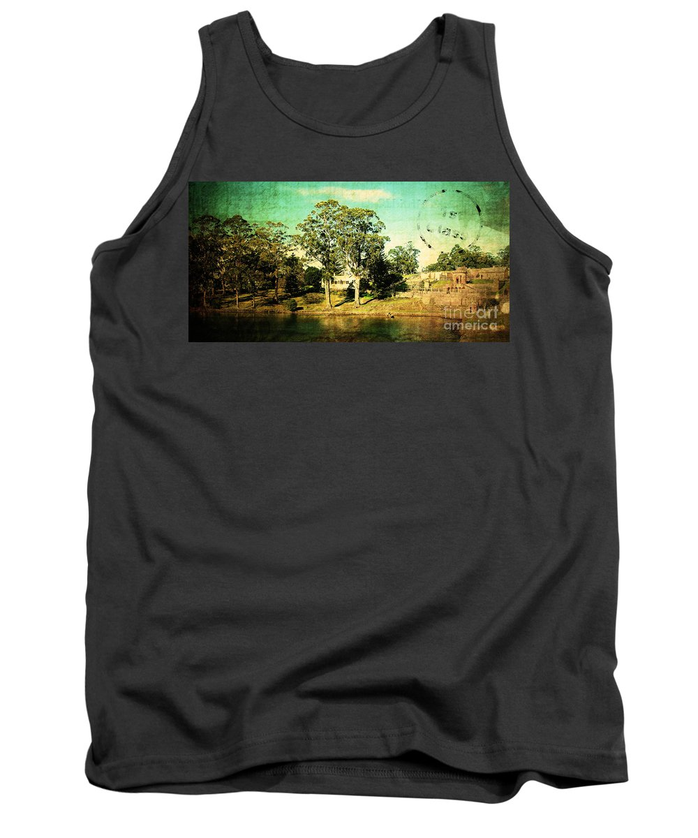 Vintage Tank Top featuring the photograph Old Water by Phill Petrovic