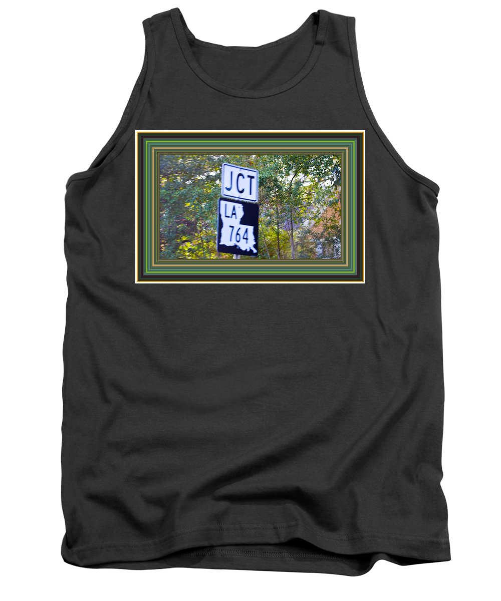 Framed Print Tank Top featuring the photograph On The Road Again by Marie Jamieson
