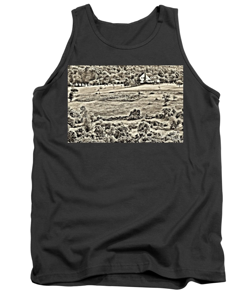 Landscape Tank Top featuring the photograph Once Upon The Long Ago by Tami Quigley