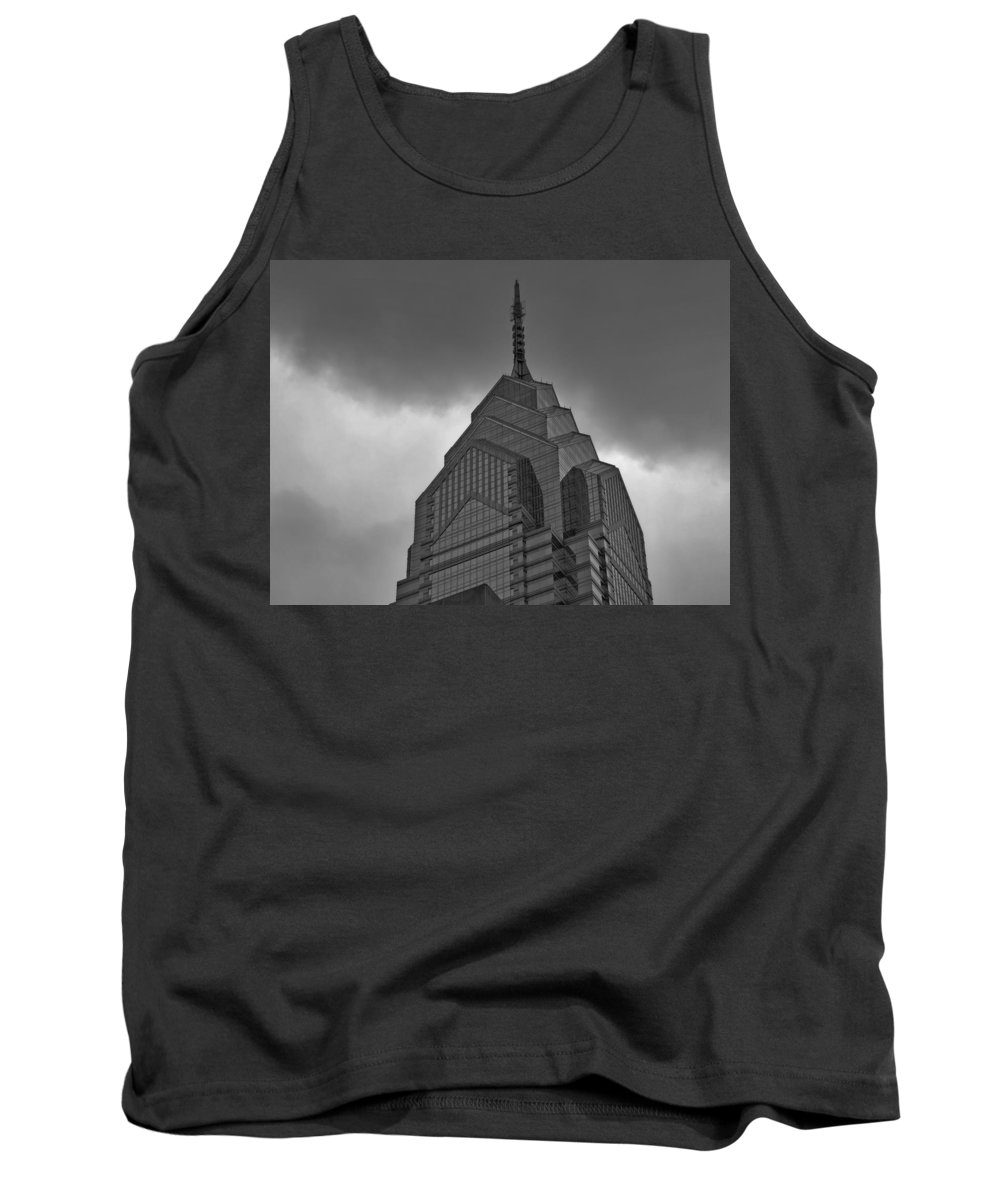 One Tank Top featuring the photograph One Liberty Place Philadelphia by Cityscape Photography