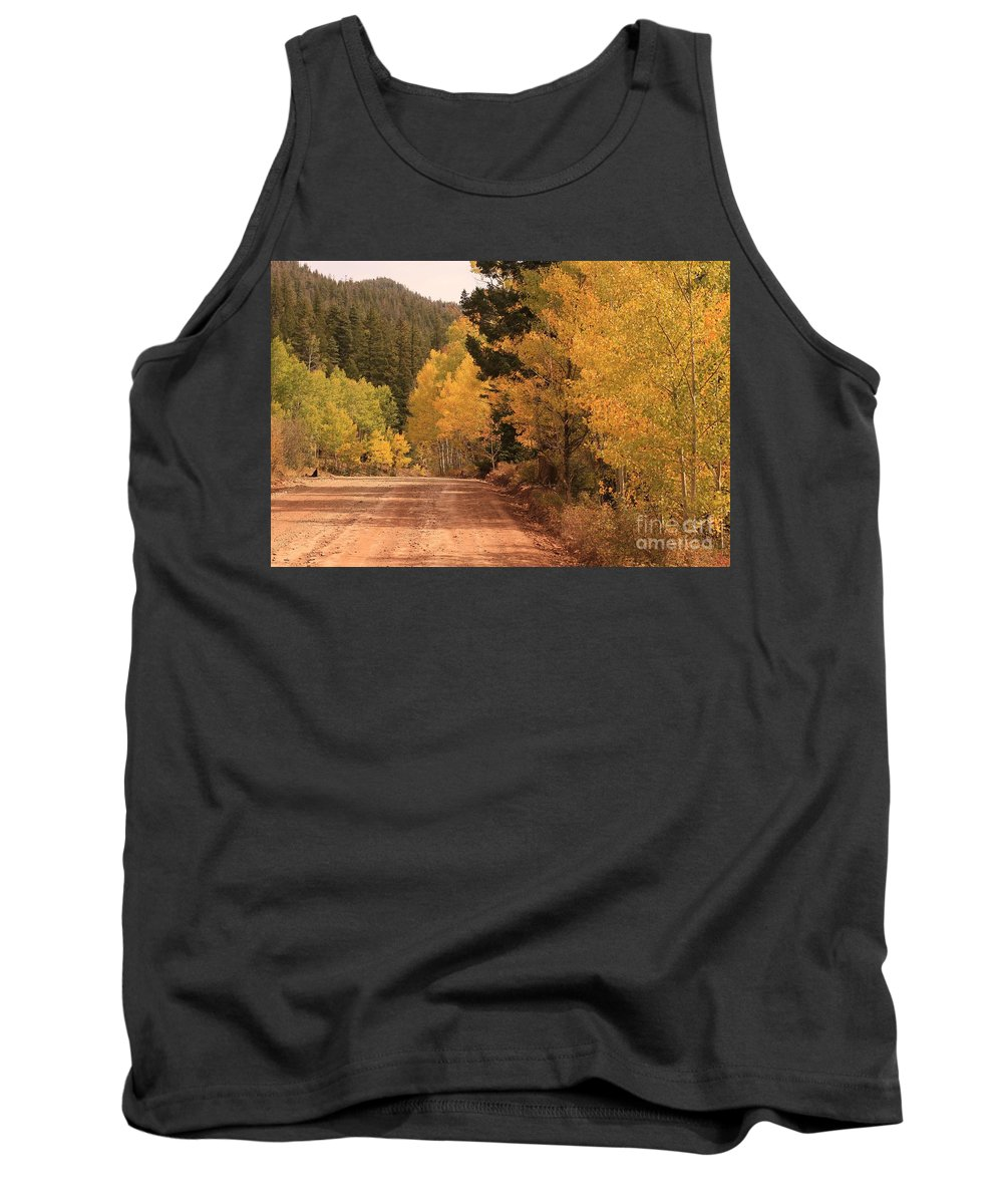 Ashley Mann Tank Top featuring the photograph Open Road 4 by Ashley M Conger