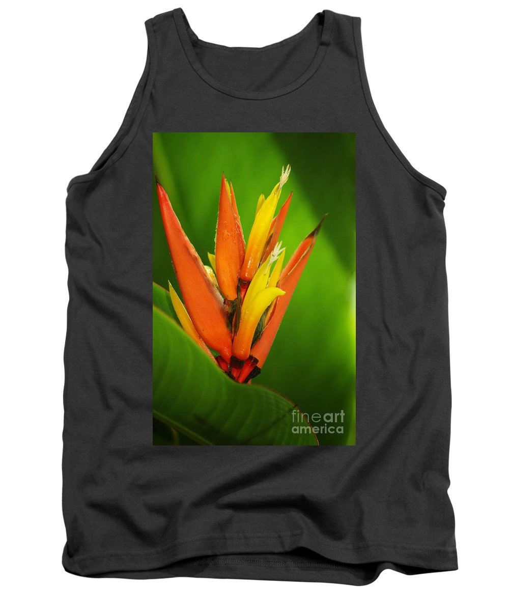 Photography Tank Top featuring the photograph Orange Pocket Fold by Jackie Farnsworth